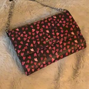 NWT 🎀Ninewest hearts crossbody wallet bag 🎀
